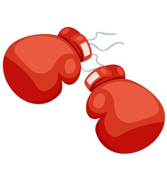 A two boxing glove vector