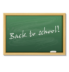 back to school card or background vector image
