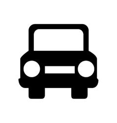 Car auto front icon graphic vector