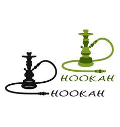 hookah set vector image