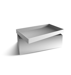white big box vector image