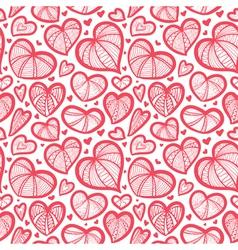 valentines seamless vector image