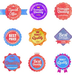 Watercolor Web stickers banners and labels Sale vector image