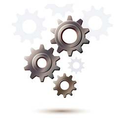 machine gear wheel cogwheel icon vector image