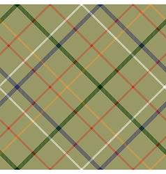 heckered diagonal plaid seamless pattern vector image