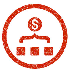 Money aggregator rounded grainy icon vector