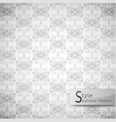 Abstract seamless pattern lattice bow ribbon vector