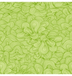 Abstract seamless pattern Nice green colors vector image vector image