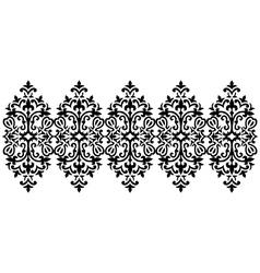 Antique ottoman turkish pattern design sixty five vector
