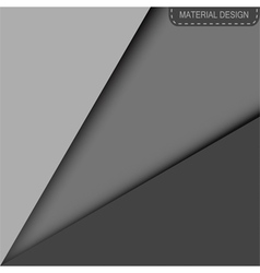 Material design modern background vector image