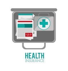 Isolated medical and health care design vector