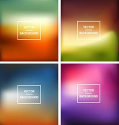Blurred background vector image