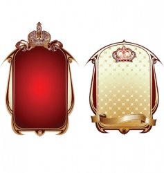royal banner vector image