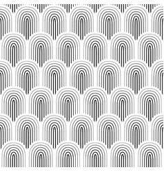 black white seamless background vector image