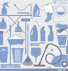 Cleaning background vector