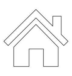 House pictogram icon vector