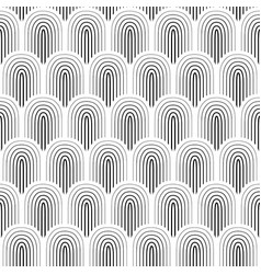Black white seamless background vector