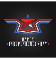 Happy Independence Day United States background vector image vector image