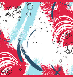 Paint background poster stain trendy scrapbook vector