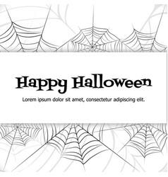 spider web vector image