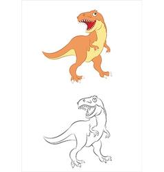 Tiranosaurus vector image