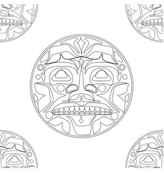 the sun symbol vector image