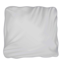 Pillow mockup realistic style vector