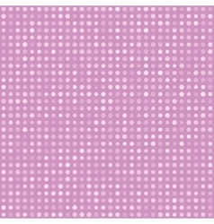 Pink pattern of multiples dots vector
