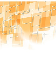 Abstract orange tile particle background vector