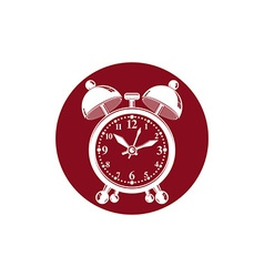 Alarm-clock 3d symbol best for use in graphic vector