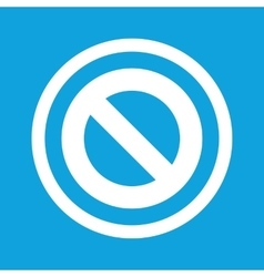 No sign icon vector