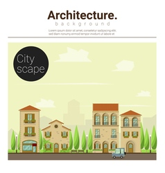 Architecture background cityscape 2 vector