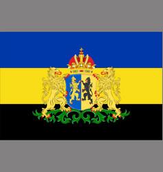 flag of gelderland netherlands vector image vector image