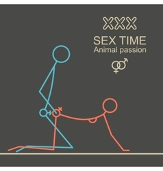 Kamasutra man and woman sex xxx vector