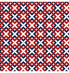 national pattern vector image vector image