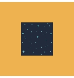 pattern made with stars in square vector image vector image