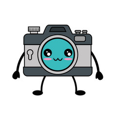 photographic camera icon vector image vector image