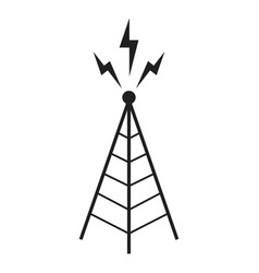 Broadcast Tower Vector Antenna - broad...