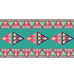 Unusual geometric seamless pattern vector image