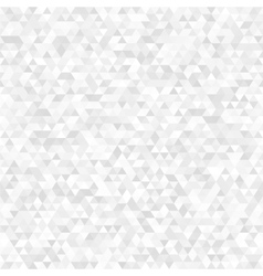 White triangular seamless texture vector
