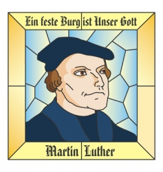 Martin luther vector