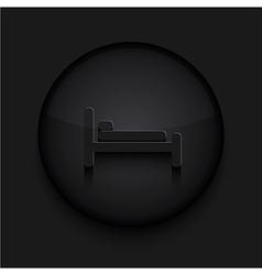 Black circle iconeps10 vector