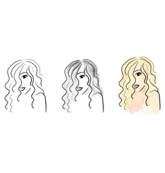 Sketches vector image