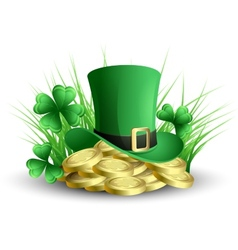 St patricks background vector