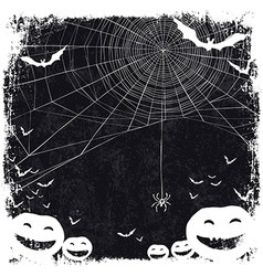halloween blank background vector image vector image