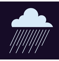 Rain cloud vector