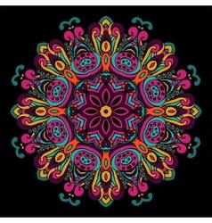 Abstract Festive ethnic mandala background vector image vector image