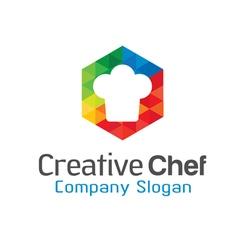 Creative chef design vector