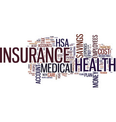 The new way to lower the cost of health insurance vector