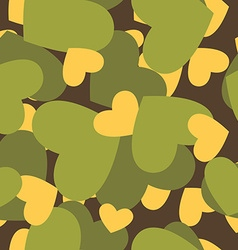 Military texture for love camouflage army seamless vector